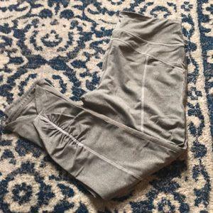 Grey Fila workout leggings size medium!
